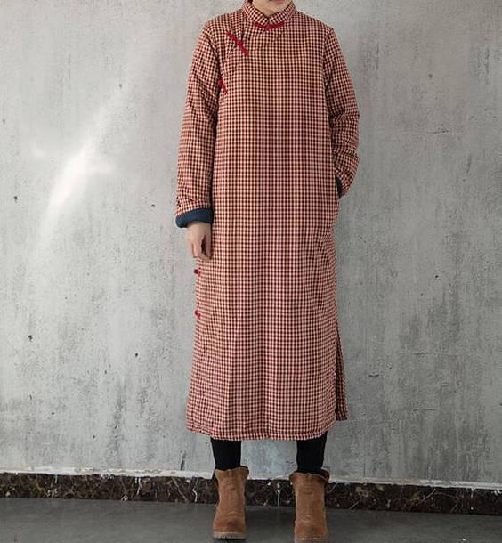 dress winter dress red winter dress long sleeve dress