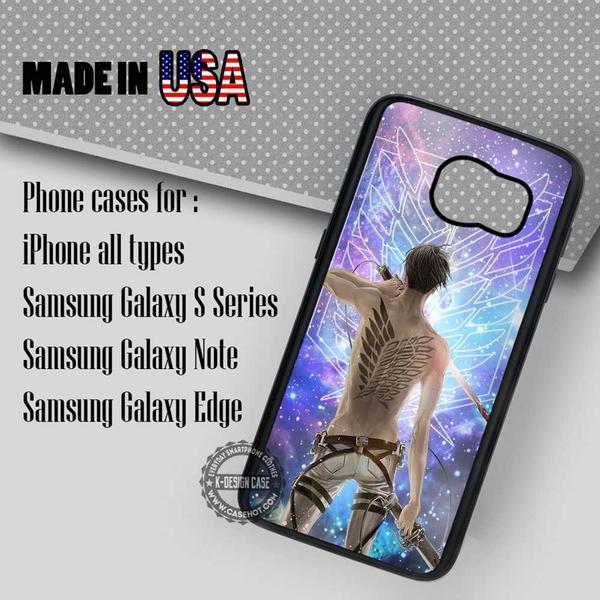 Samsung S7 Case - Eren Galaxy Nebula- iPhone Case #SamsungS7Case #cartoon #yn