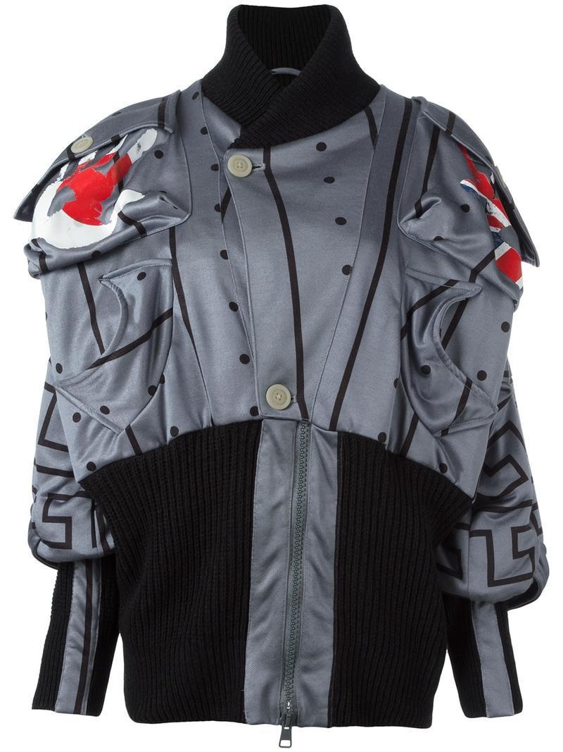 491a37b33 Vivienne Westwood Anglomania single button blazer, Women's, Size: 42,  Black, Polyamide/Spandex/Elastane/Viscose/Cotton