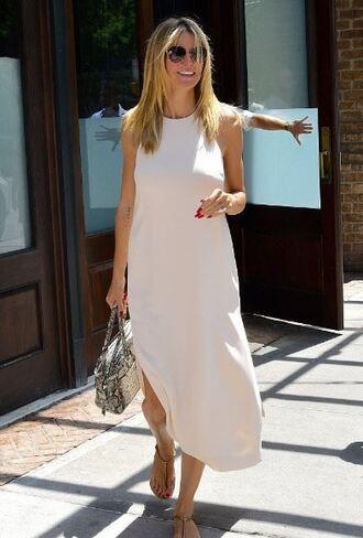 dress heidi klum bag shoes sunglasses sandals