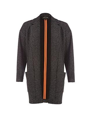 ASOS Fashion Finder | Grey tweed unfastened blazer
