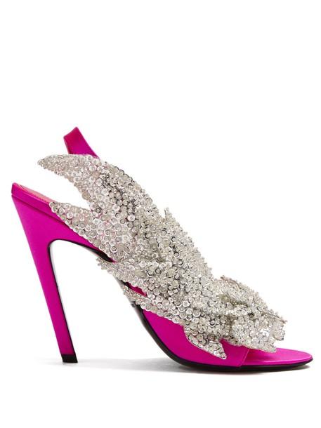 Balenciaga pink shoes