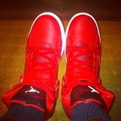 shoes,red hot new jordans