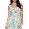 Green floral dress - mint green floral blossom print | ustrendy