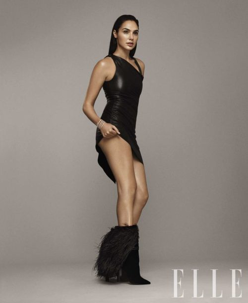 dress black dress bodycon dress editorial gal gadot asymmetrical