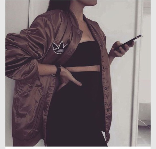 Black or brown bomber jacket – Your jacket photo blog
