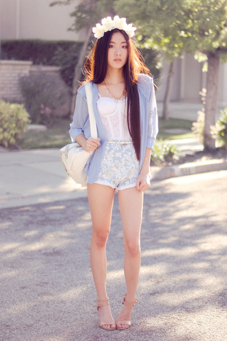 art in our blood jewels jacket belt shorts shoes