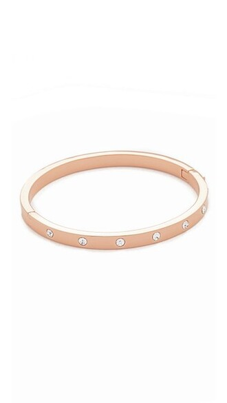 rose gold rose clear gold jewels