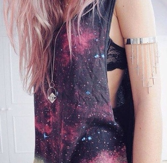 tank top galaxy print cute galaxy shirt awesomness fucking awesome so awesome jewels
