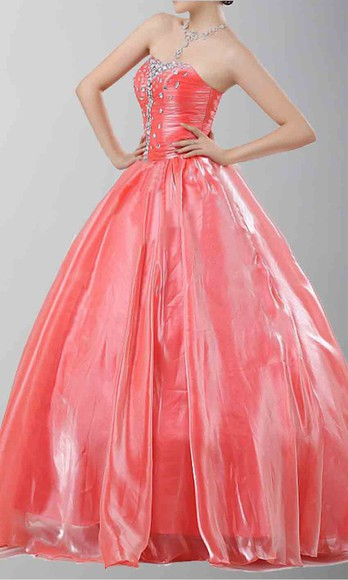 wedding dress long prom dresses corset dress military ball coral pink coral prom dress prom gown princess dress sweet 16 dresses