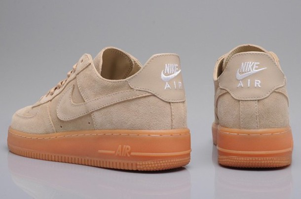 Nike Air Force 1 Suede Beige