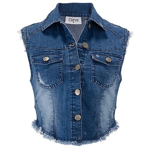 Damen-Jeansweste von Gina für Damen bei Ernstings family günstig bestellen