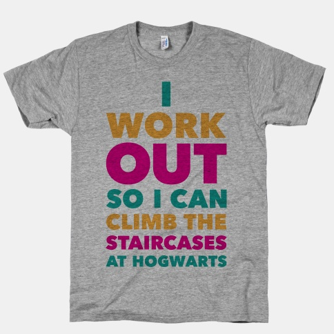 I Work Out | HUMAN | T-Shirts, Tanks, Sweatshirts and Hoodies