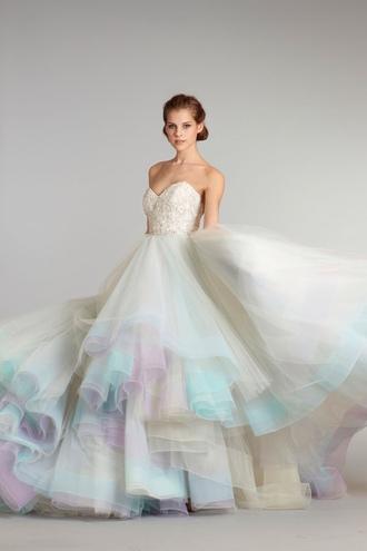 dress wedding wedding dress white dress white princess wedding dresses