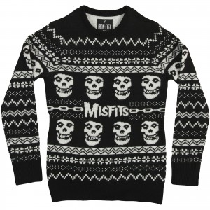 Merry Misfits Sweatshirt Rockabilia Music Merchandise