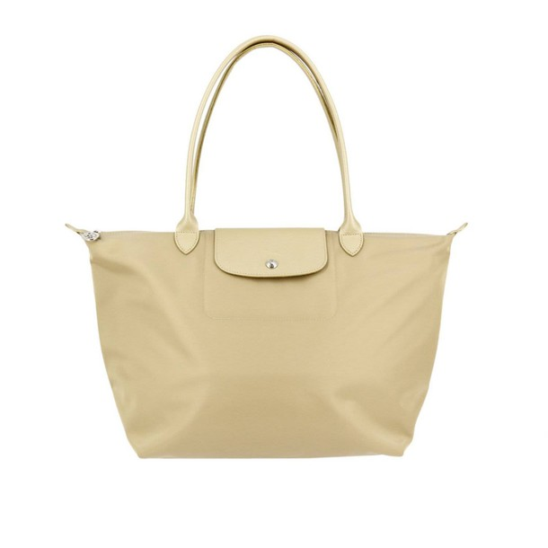 Longchamp women bag shoulder bag gold