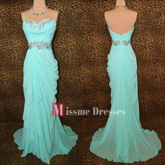 dress dress blue sky blue necklace bling pretty fitted ruffled new dress cute gorgeous brand