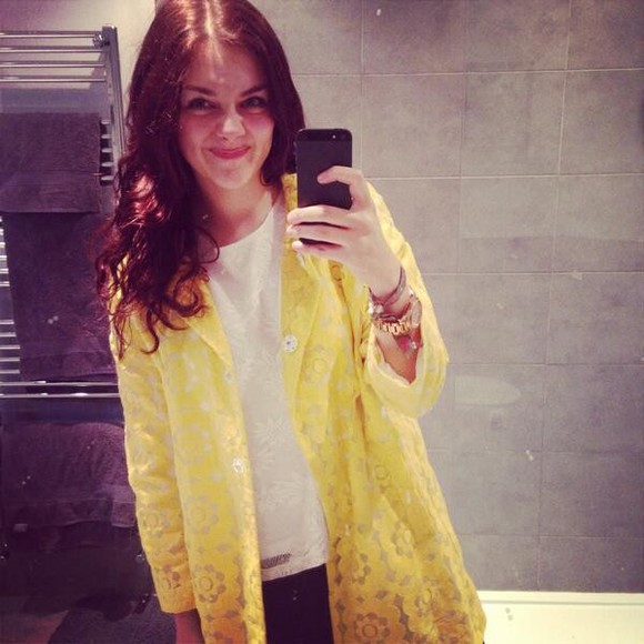 coat yellow trench coat yellow waterproof summer