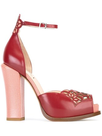 sandals platform sandals red shoes