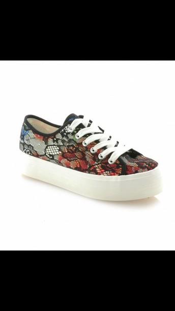shoes flower shoe