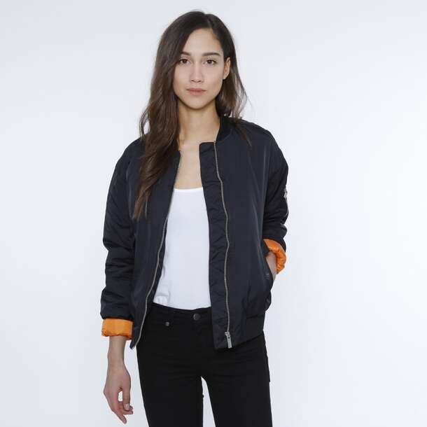 Girls In Bomber Jackets - Coat Nj
