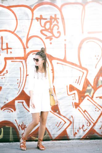 lovely pepa blogger dress shoes sunglasses bag