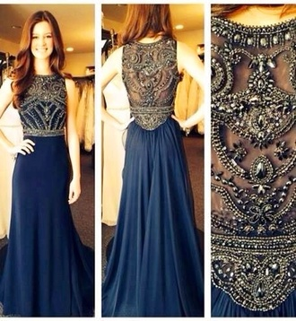 dress navy prom dress prom gown floor length blue dress prom dress navy blue dress sequin top