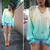 Youwearfashion Diy Ombre Yellow Green Dip Dye Jumper, Jeffrey Campbell Litas - Dip dye studded jumper - Kavita D | LOOKBOOK