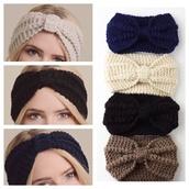 hair accessory,mocha,headwrap,knitted headband,headband,black,ivory,navy