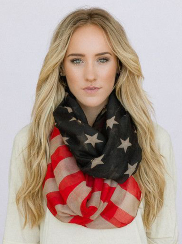 scarf usa july 4th