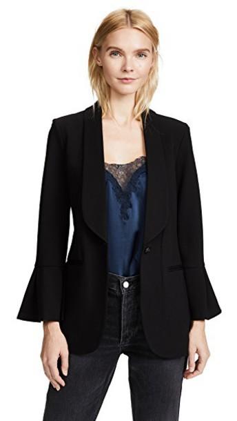 L'Agence blazer black jacket