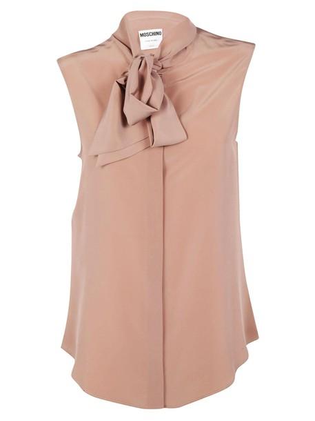 Moschino blouse sleeveless top