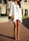 Slit cutout short dress