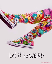 shoes,converse,high top converse,high tops,sneakers,colorful,cute,cartoon