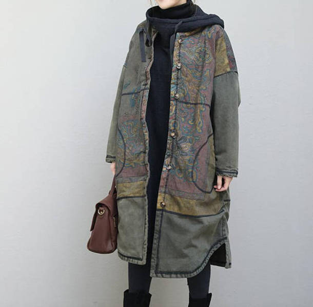 coat jacket winter coat oversized coat