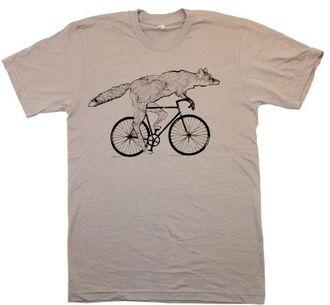 t-shirt mens t-shirt grey t-shirt fox hipster hipster menswear