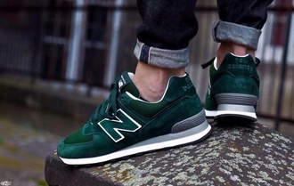 shoes new balance dark green mens shoes forest green