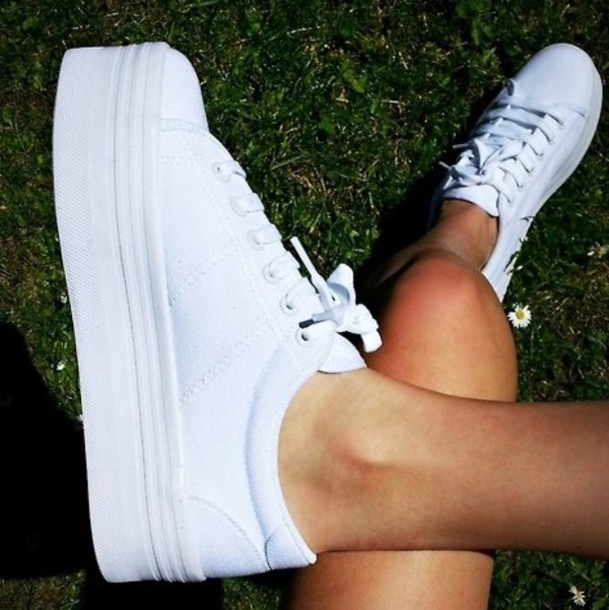 white shoes from Asos sold on for 26