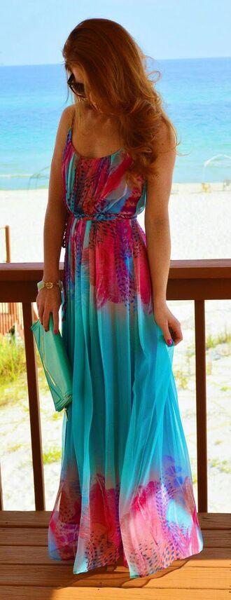 dress maxi dress maxi blue dress