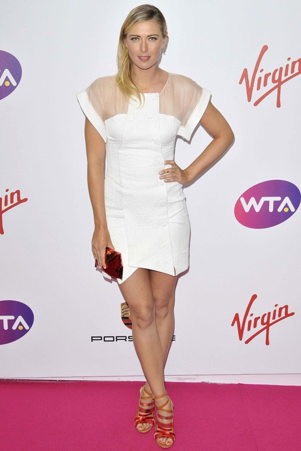 shoes maria sharapova dress