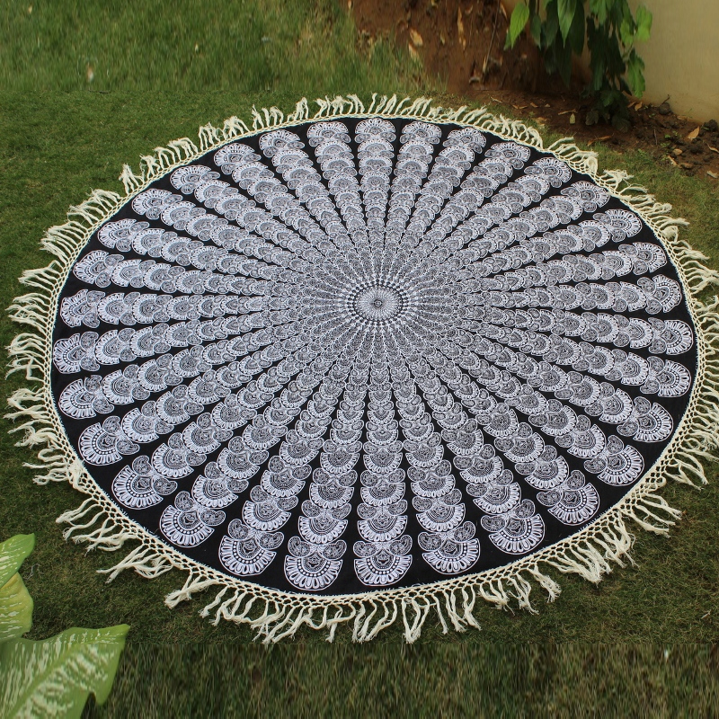 Indian Screen Print Wall Hanging Tapestry
