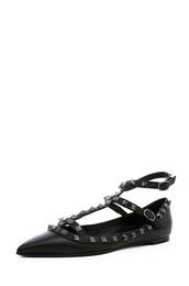 shoes,flats,ballerina,studs