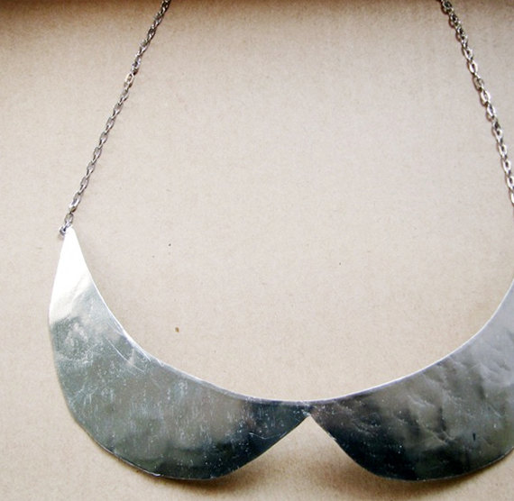 No 2 peter pan collar necklace par moderntribes sur etsy