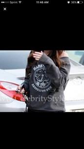 shirt,ramones,sweater,pullover,dark,grey,long,sleeve,megan,fox