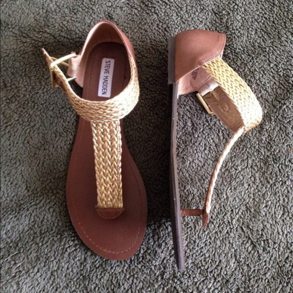 braided shoes sandals steve madden sandals gold sandals braided sandals steve madden