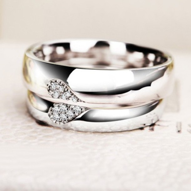 Jewels Couples Promise Rings Matching Wedding Bands Commitment