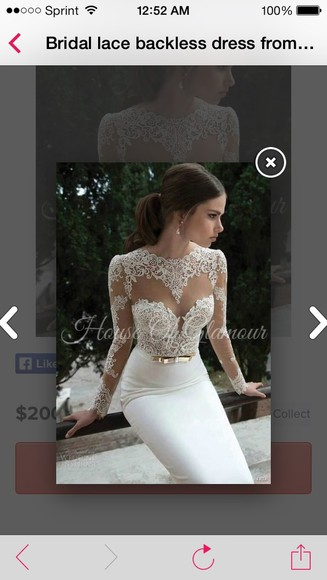 dress wedding dress lace dress lace wedding dresses see through vintage wedding dress underwear