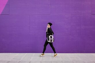 the courtney kerr blogger jacket leggings bag shoes sunglasses hat