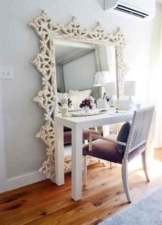 mirror vanity home decor makeup table home accessory