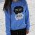 The Fault In Our Stars Okay Okay Blue Fleece Crewneck Sweatshirt